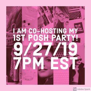 Posh Party 9/27 @ 7pm EST